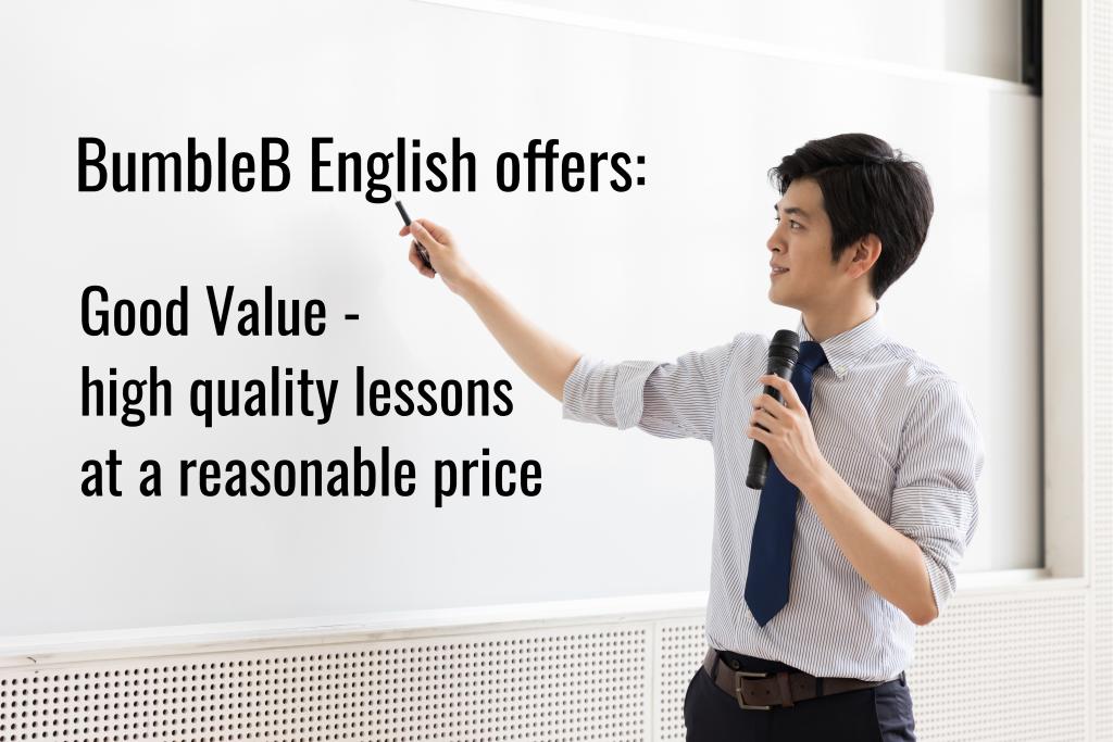BumbleB English Good Value